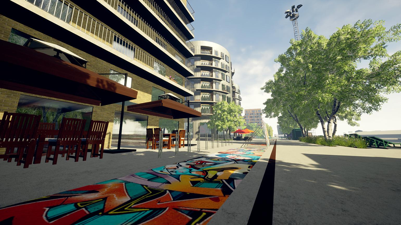 Norrköpings Kommun – Inre hamnen i VR